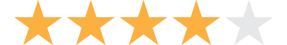 four star rental rating